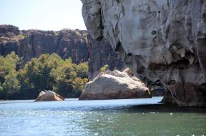 Go to Geikie Gorge, Fitzroy Crossing WA