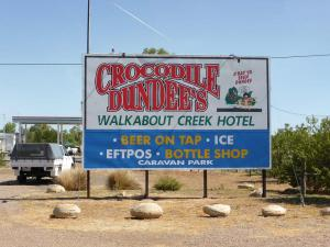 Go to Walkabout Creek Hotel - Crocodile Dundee, McKinlay QLD