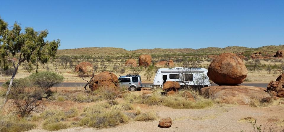 Splitting the middle - a road trip through Australia's Red Heart
