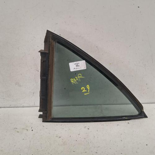 quarter door glass rear right