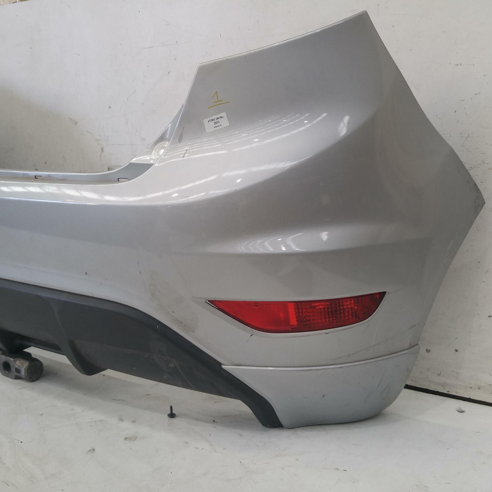 208568  Used Bumper Rear For 2011 Fiesta