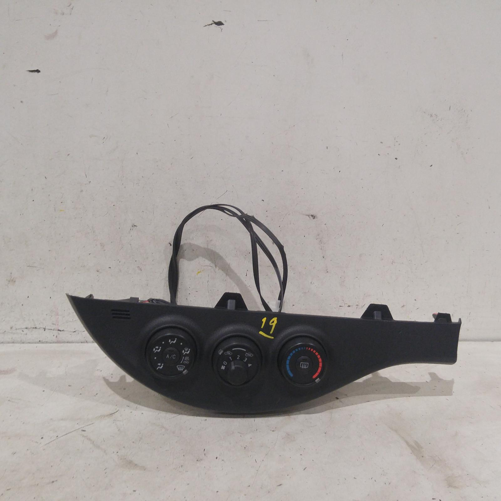 Result Heater/aircon Controls For Toyota Yaris