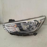 left headlamp