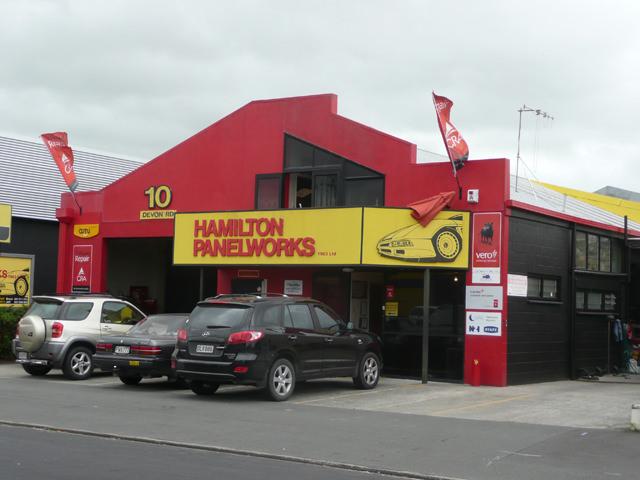 Hamilton Panel works