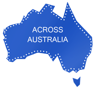 Australia simple map