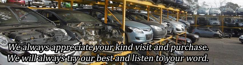 Aus Auto Parts yard racking