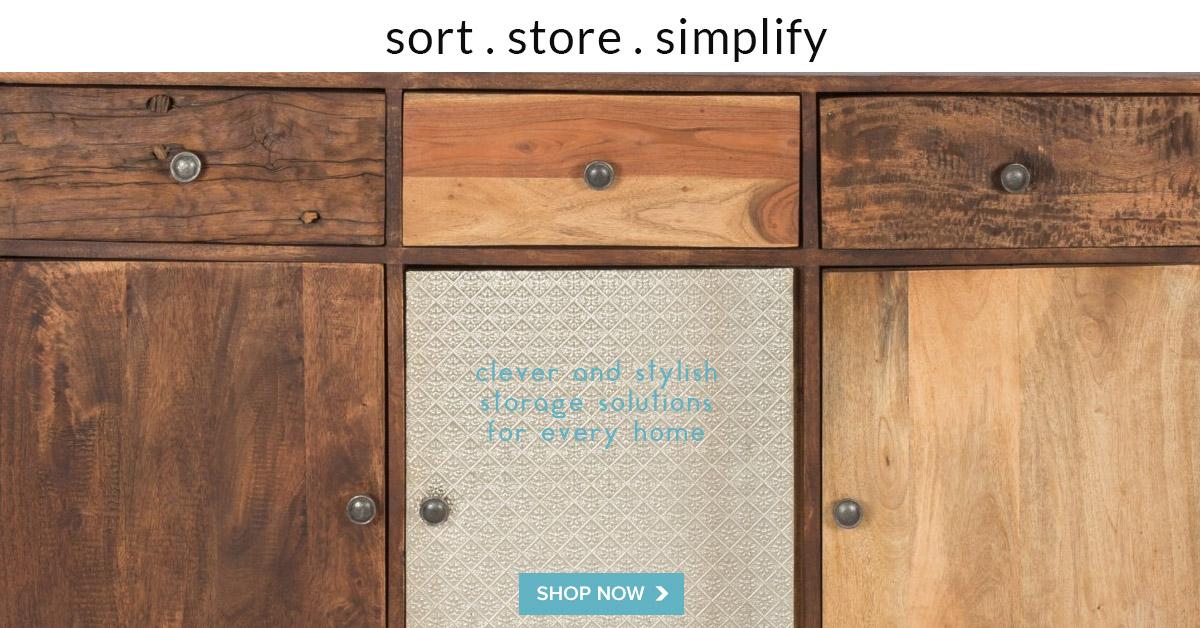 Sort store simplify
