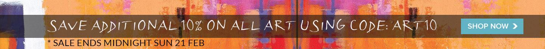 Art sale feb