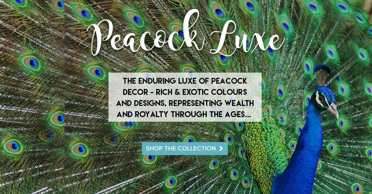 Peacock homepage