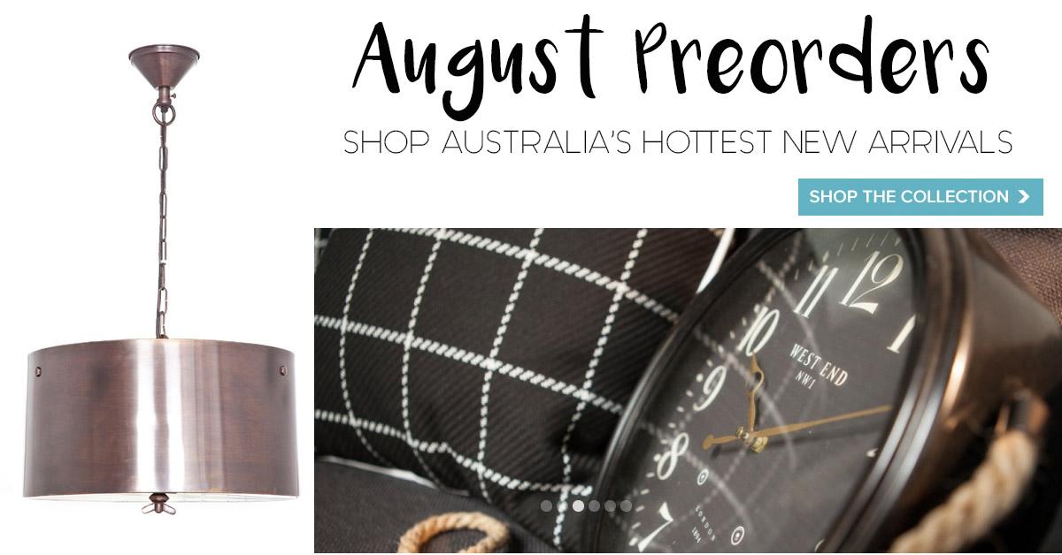 August preorders