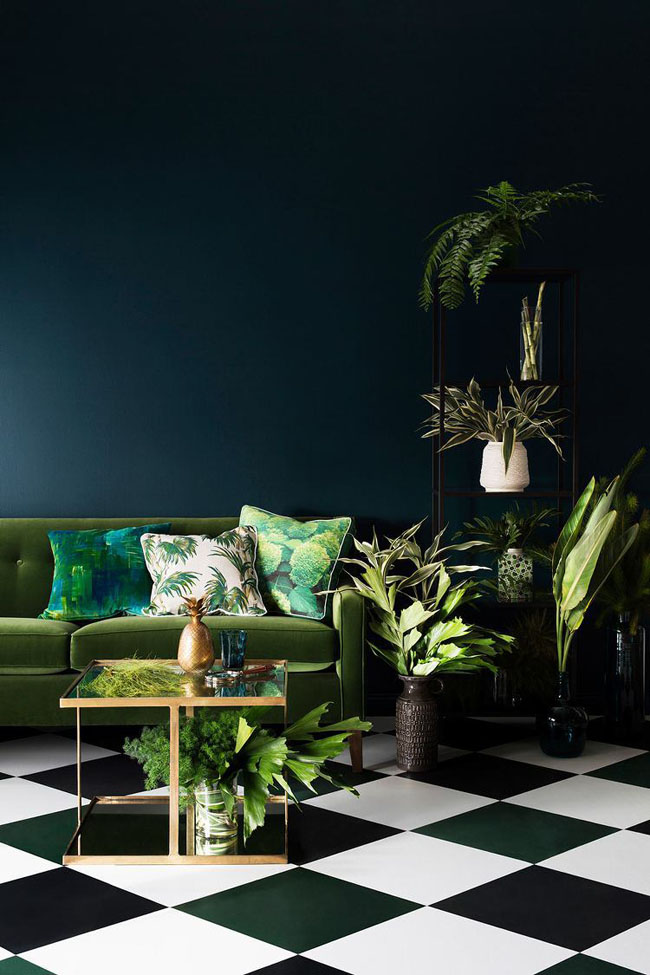 2015 interior trends botanics image via haymes