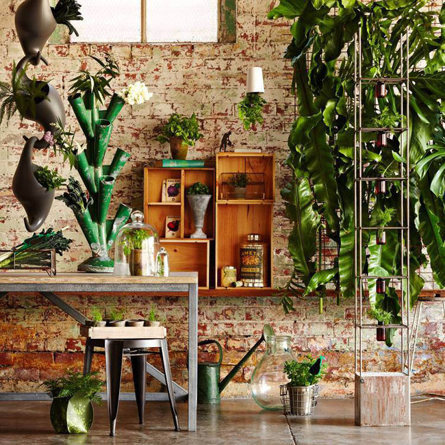 2015 interior trends botanics image via birdcage design