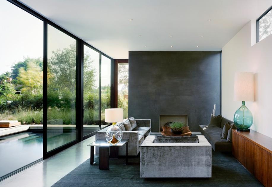 Large modern windows