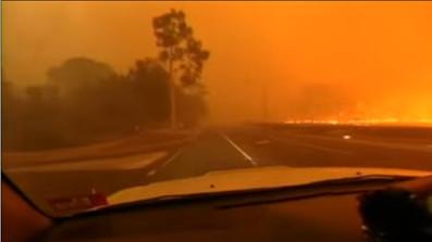 Bushfire smoke