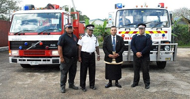 2017 Crop Tonga Fire Trucks