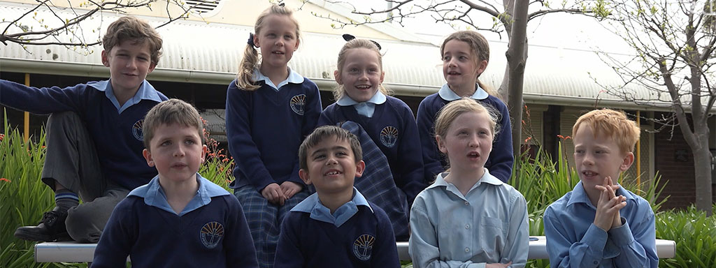 Students from Our Saviour