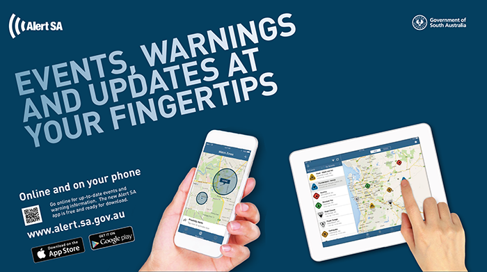 Alert SA - events, warnings and updates at your fingertips.