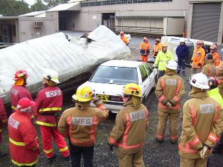 Emergency Services combine to improve RCR skills