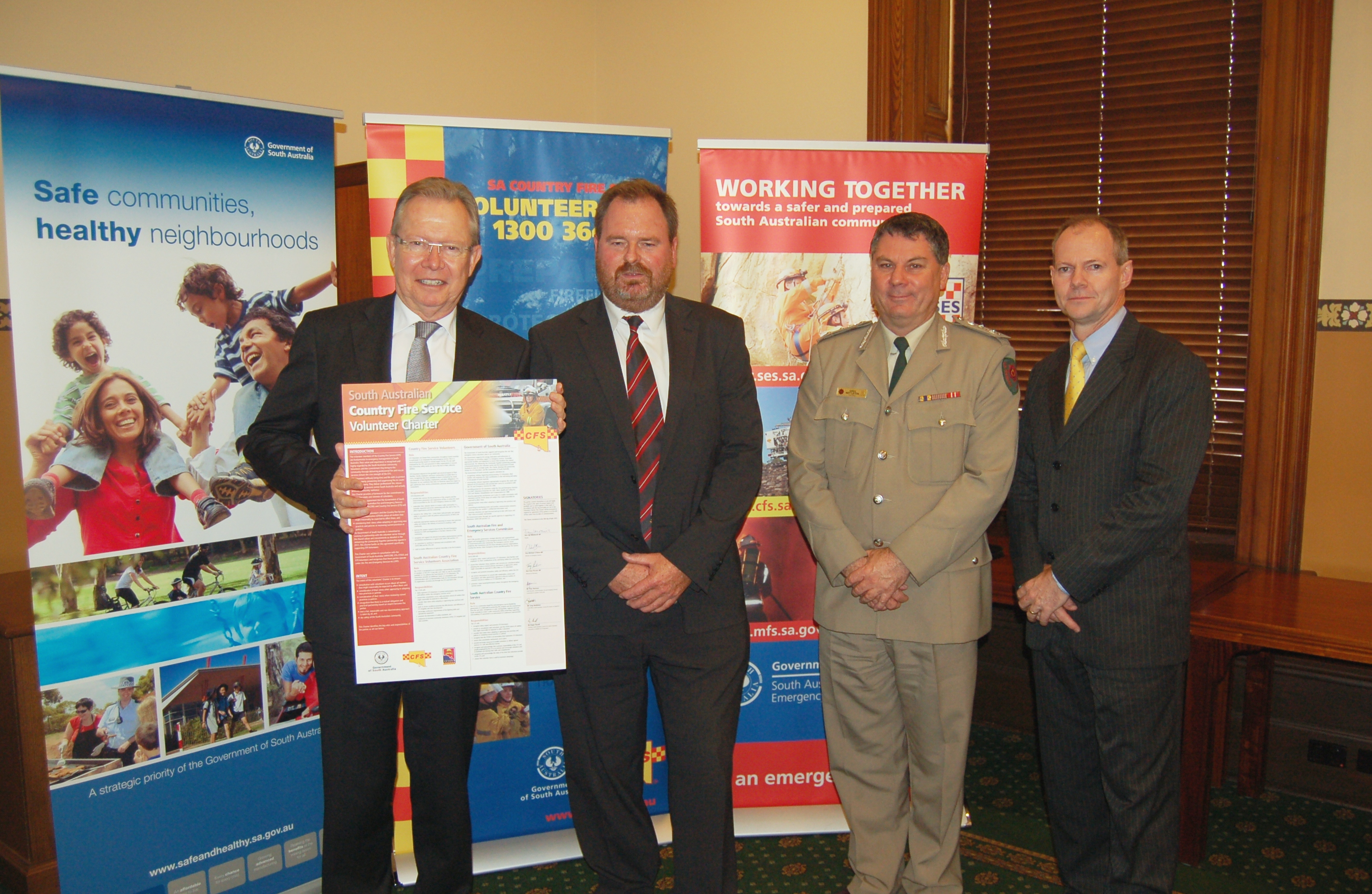 Launch of CFS Volunteer Charter 2013
