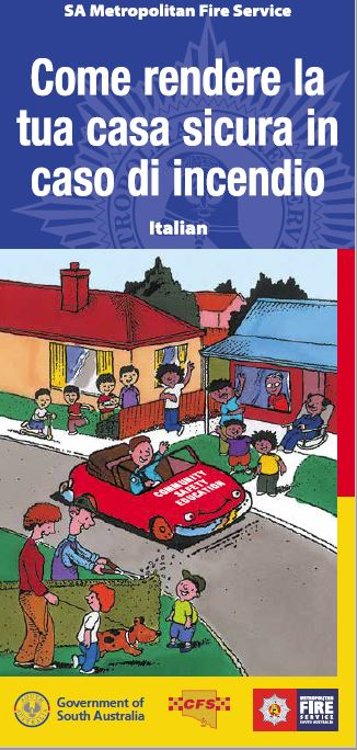 How to make your home fire safe - Italian translation