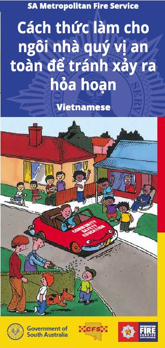 How to make your home fire safe - Vietnamese translation