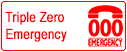 Call Triple Zero in an emergency. Clicking this link will take you to a page with information on how Triple Zero works and when to use it.