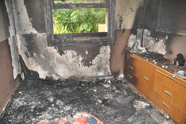 MFS Fire Investigation Image - Bedroom with Candles -3