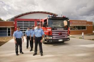 New MFS Fire Station at Paradise