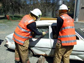 Road Crash Rescue Training