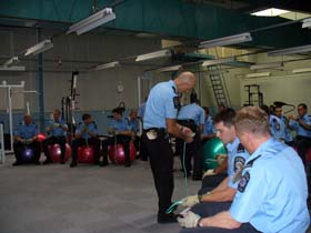 Recruit Training, Angle Park