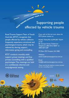 Road Trauma Support Team of SA Posters