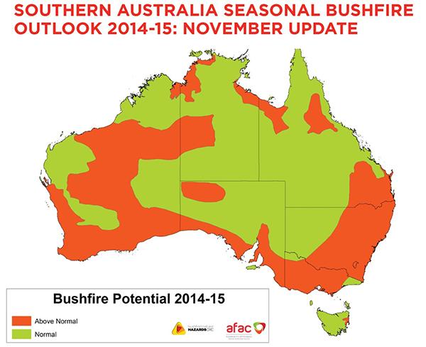 Seasonal Outlook November 2014 Update