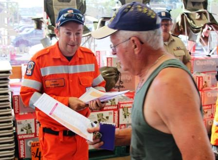 SES - Heatwave Community Engagement - Enfield Unit at Bunnings - Stuart