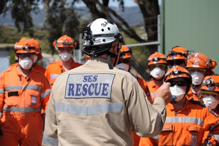 SES - Roles - Urban Search and Rescue - command