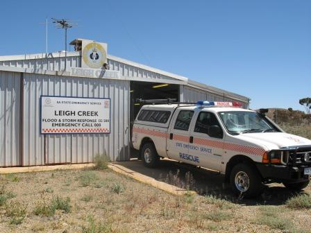 SES - Unit Leigh Creek and Vehicle