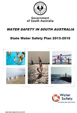 This is the front page of the State Water Safety Plan