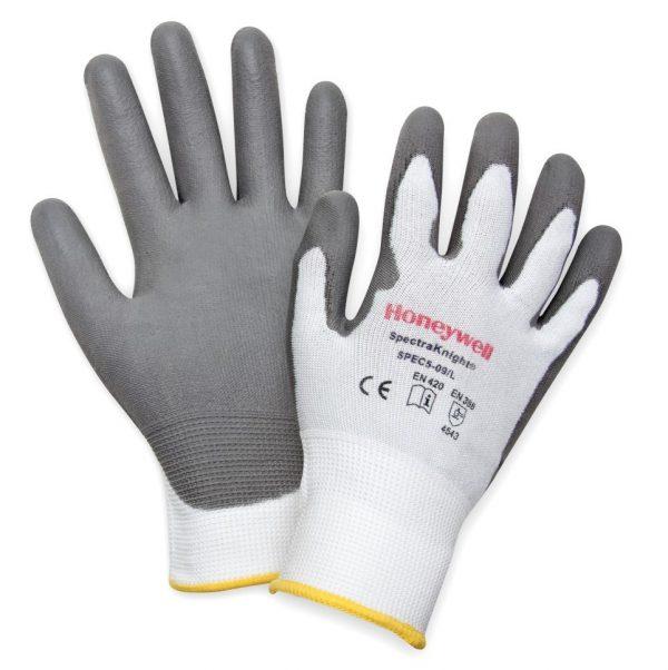 Honeywell Spectraknight C5 cut resistant gloves