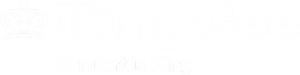 KingGee White Logo