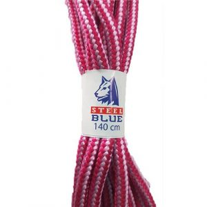 Nylon Pink Boot Laces 140cm