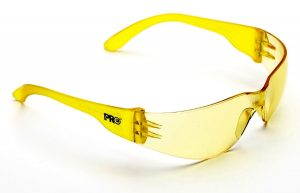 ProChoice Tsunami Safety Glasses Amber