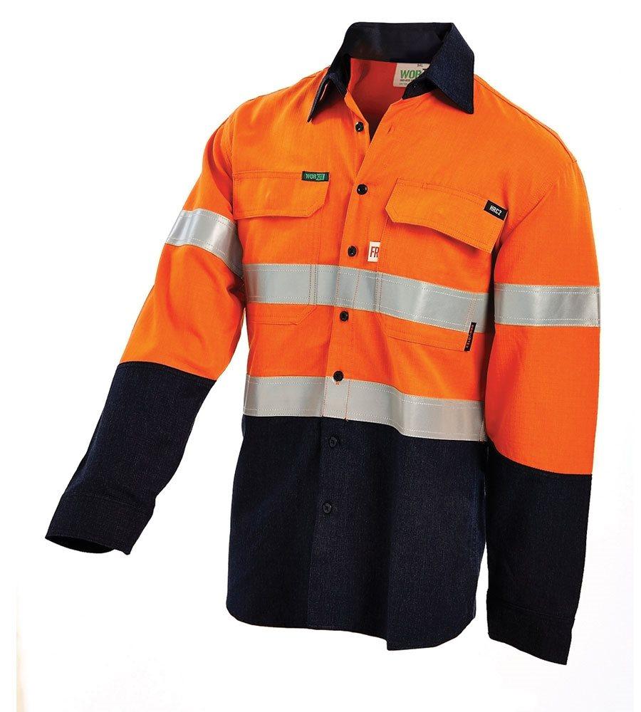 c452229c03e9 WorkIt 2808 PPE1 Fire Retardant Shirt - Safety Zone Australia