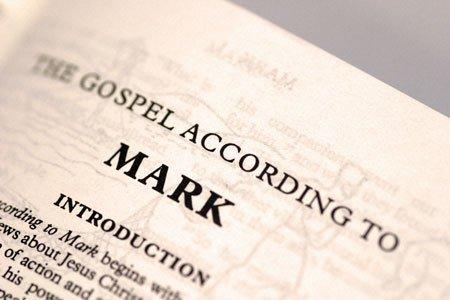 Picture of The Gospel of Mark's beginning