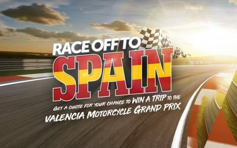 WIN A TRIP TO THE MOTORCYCLE GRAND PRIX IN VALENCIA