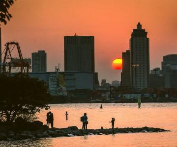 2013 JAPAN .010 Tokyo Odaiba Sunset