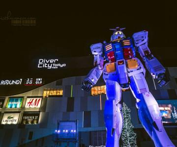 2013 Japan .011 Tokyo Odaiba Night - Gundam! & Hot Spring