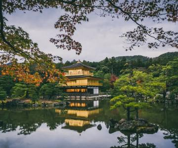 2013 JAPAN .022 Golden Pavilion & Night walk in Kyoto.