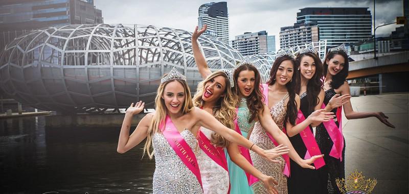 Miss Galaxy Australia & Miss Teen Galaxy Australia 2015 Victoria Finallists