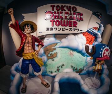 Japan Trip v2.0 Tokyo One Piece Tower, Naruto Exhibition & Ninja Akasaka Restaurent