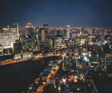 Japan Trip v2.0 - Shitennō-ji, Tsūtenkaku and Umeda