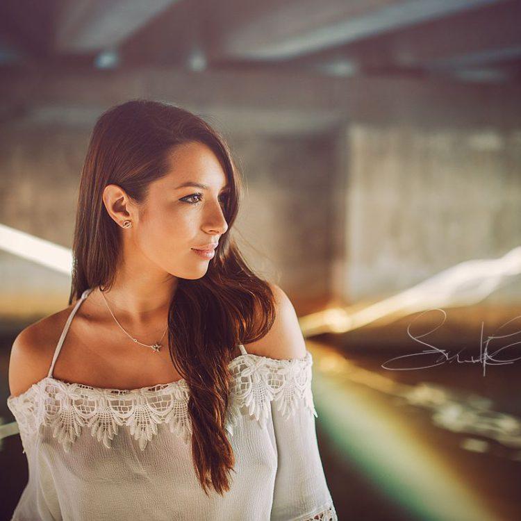 Docklands Test shoot with aspiring model Mikhaila